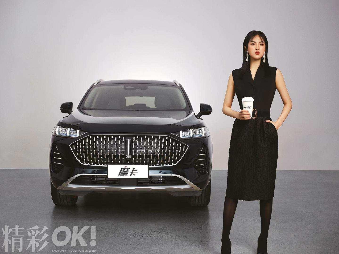 任正非小女儿姚安娜站台,长城汽车WEY品牌全新旗舰SUV亮相