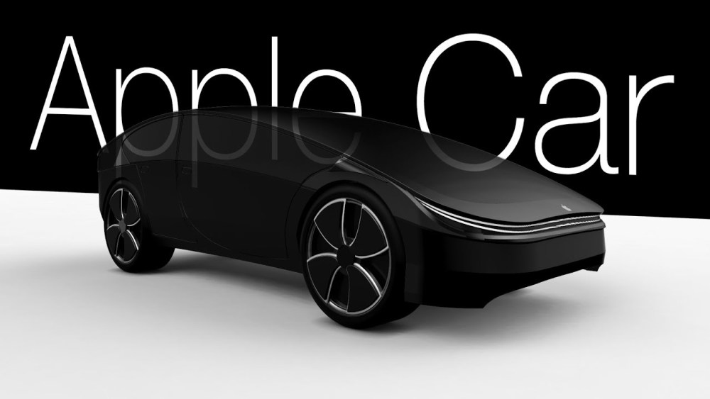 苹果汽车applecar概念图