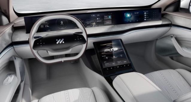 智己首款纯电轿车将于上海车展接受预订