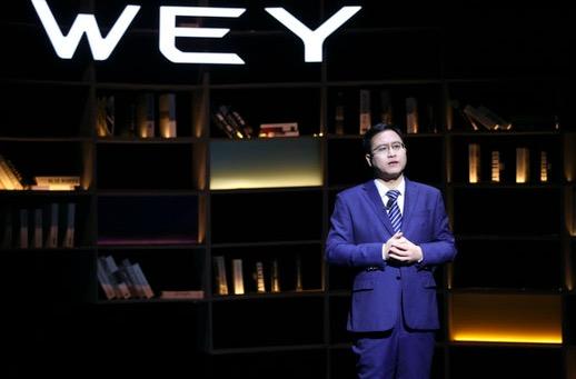 李瑞峰:WEY品牌定位智能豪华 将开启全产品矩阵