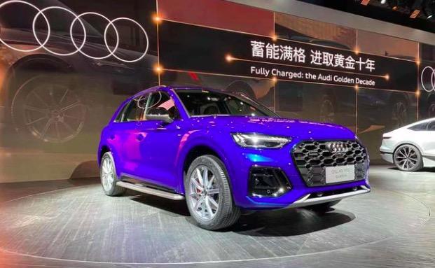 2021上海车展:新款奥迪Q5L正式亮相