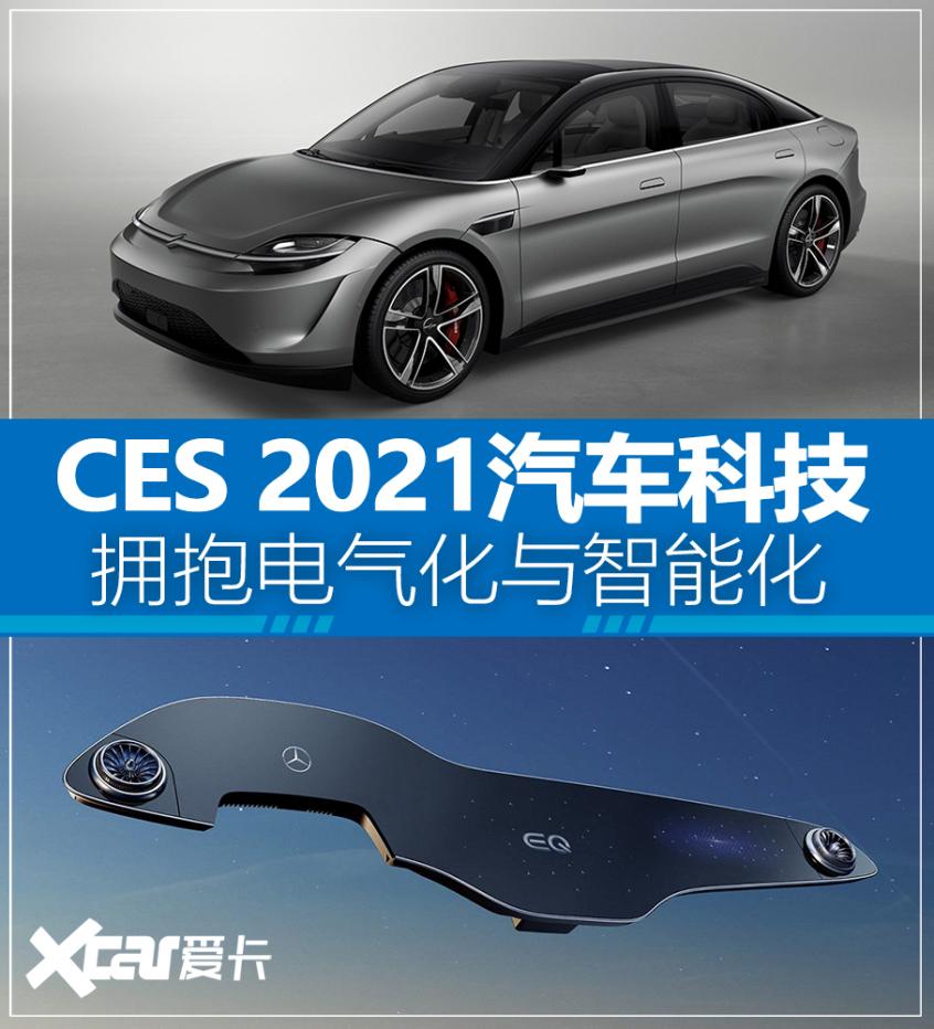 CES 2021汽车新科技