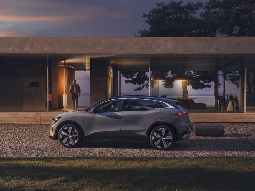 电动汽车,新车,热点车型,骁龙芯片,高通与雷诺合作,雷诺推出新款纯电动车梅甘娜